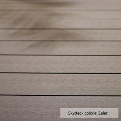 Lames de terrasse composite Skydeck - Coloris galet