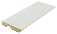 Plinthe pour parquet bois blanc